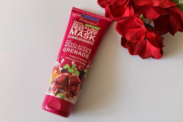 Feeling Beautiful - Revealing Peel-Off Facial Mask, Pomegranate 6oz - Click Image to Close