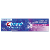 3D White Fluoride Anticavity Toothpaste Radiant Mint (HSD:07/22)