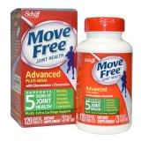 Schiff Move Free Glucosamine Chondroitin + MSM 120v (hsd: 04/2020)