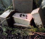 Juniper Spearmint soap bar