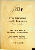 100% Pure Fruit Pigmented Healthy Foundation, Golden Peach