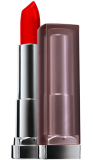 Color Sensational Creamy Matte Lipstick, Siren in Scarlet