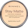 Rimmel Stay Matte Pressed Powder, Transparent 14g