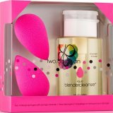 Makeup Sponge Applicator Double + Cleanser Kit