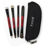 4 Piece Mini Eye Kit - 8 Brushes with Zip Purse