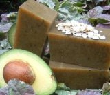 Avocado Oatmeal Soap