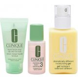 3 Piece 3 Step Skin Care Introduction Kit for Unisex, Combination Oily Skin Type