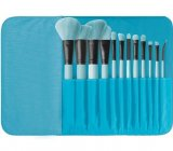 Brush Affair Collection 12 Piece Makeup Brush Set in Powder Blue