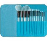 Brush Affair Collection 12 Piece Makeup Brush Set in Powder Blue