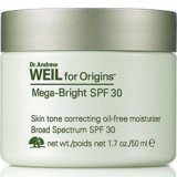 Dr. Andrew Weil for Origins™ Mega-Bright SPF 30 Skin tone correcting oil-free moisturizer SPF 30 50ml
