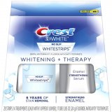 Crest 3D White Whitestrips Whitening + Therapy Teeth Whitening kit, 14 treatments