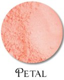 Minerals blush, Petal
